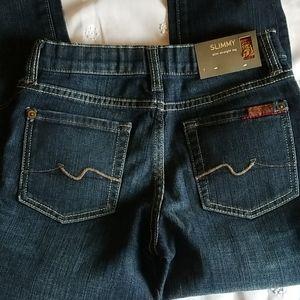 NWT Kids 7 jeans